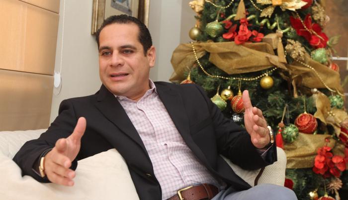 Richard Salazar, presidente de Acorbanec (Asociación de Comercialización y Exportación de Banano).