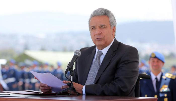 Imagen referencial. Lenín Moreno, presidente de Ecuador.