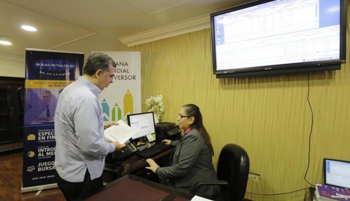 Jornada. En la Bolsa de Valores de Guayaquil (BVG) se preparan para una semana de capacitación. La participación es abierta y gratuita.