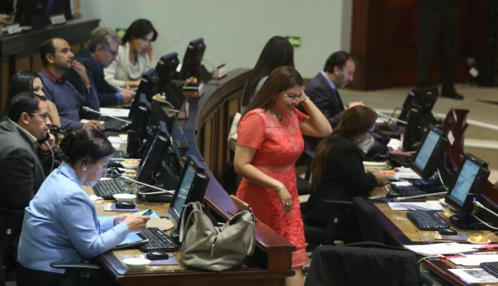 Respaldo. El apoyo de los correístas fue insuficiente pasa salvar a la legisladora Sofía Espín. Ella no ve problema en visitar a una testigo del caso Balda.