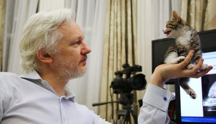 Assange permanece en la embajada de Ecuador en Londres desde 2012.