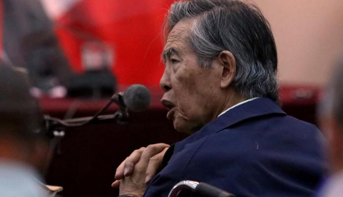 Alberto Fujimori fue presidente de Perú desde 1990 hasta el 2000.