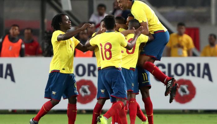 3 puestos recuperó Ecuador en la clasificación de la FIFA desde que asumió el colombiano Hernán Darío Gómez.