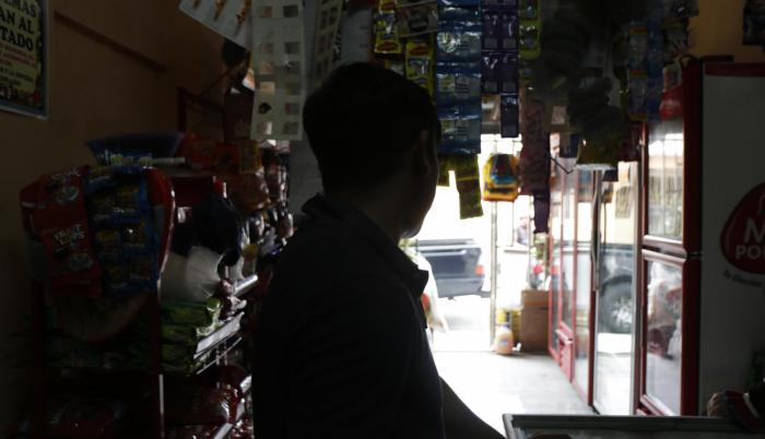 Hecho. A los comerciantes de víveres les preocupa sobre todo que con las interrupciones los productos se dañen.