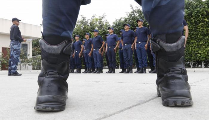 Preparación. Capacitación técnica y física es la que reciben los aspirantes a agentes civiles de tránsito.