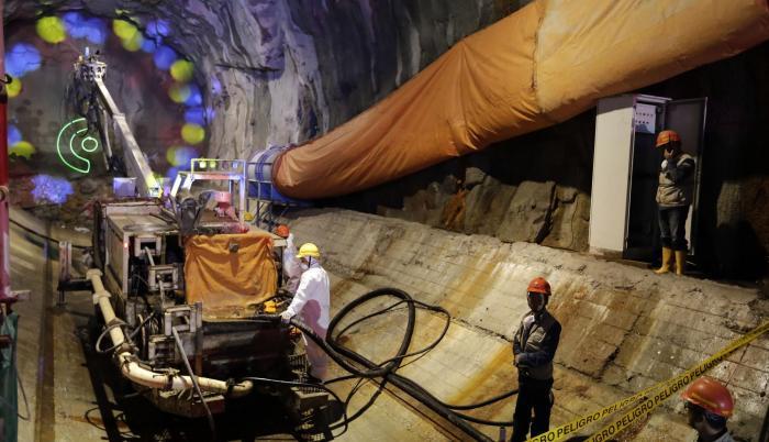 Imagen referencial. Poryecto hidroeléctrico Coca Codo Sinclair.