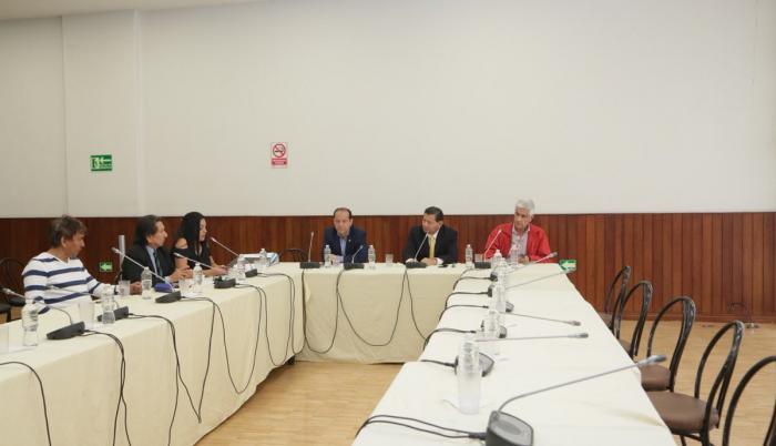 El sábado 20 de octubre, la comisión analizó el informe de investigación contra Sofía Espín.