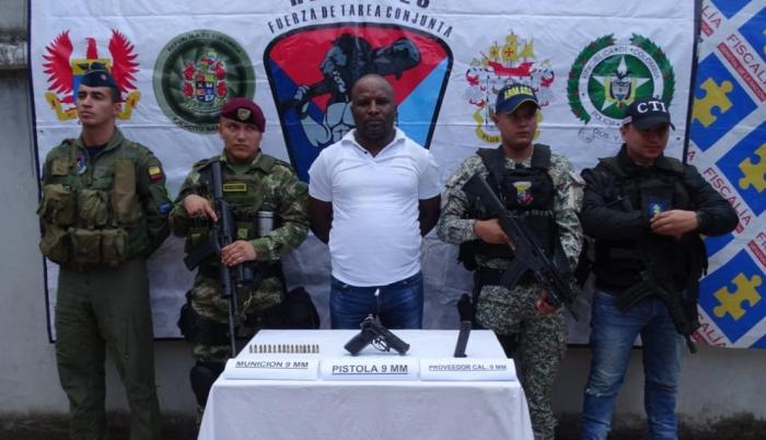 Tareas de inteligencia del Ejército permitieron su captura.