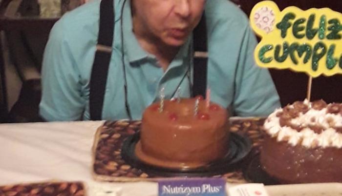 Antes de morir, el chef y presentador de TV de 62 años