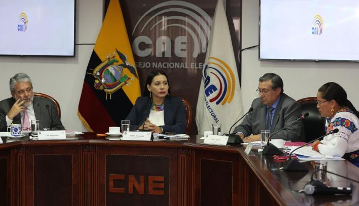 Proceso. El Consejo Nacional Electoral (CNE) prevé reunirse en plenaria durante este fin de semana por la cercanía de las elecciones seccionales.