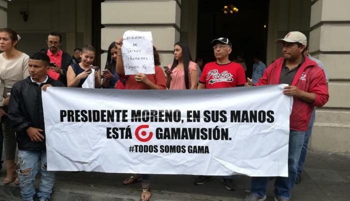 Los trabajadores se han reunido para reclamar sus derechos laborales.