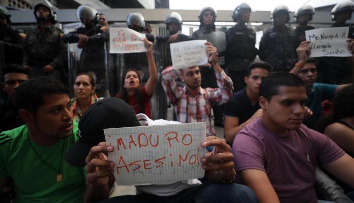 En Venezuela hay unos 236 presos políticos, según la ONG Foro Penal.