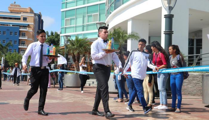 Maratón. Las habilidades de cada uno se pusieron a prueba en la competencia que se desarrolló la mañana de ayer en Puerto Santa Ana.