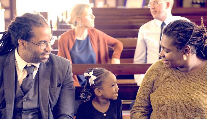 Buena conducta en la iglesia