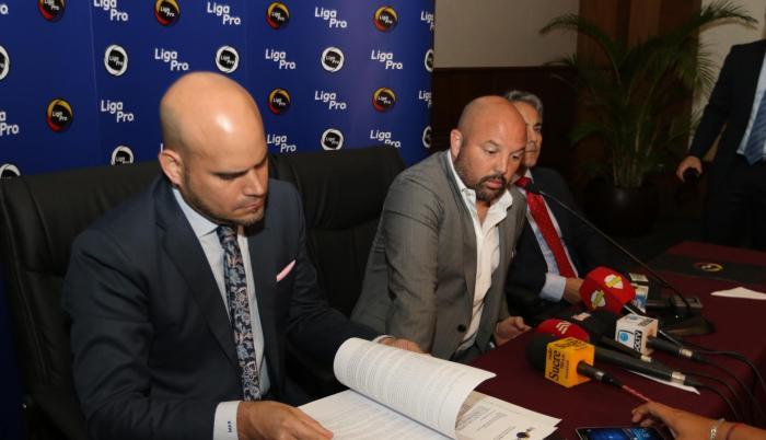 La LigaPro acogió el pedido de los clubes, según explicó el presidente del organismo, Miguel Ángel Loor.