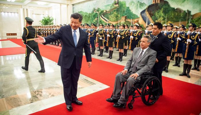 China es el principal socio financista de Ecuador en la última década con préstamos de libre disponibilidad, inversión de proyectos estratégicos y ventas anticipada de crudo atada a créditos.