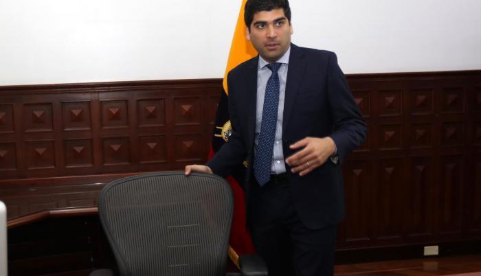 Despacho del vicepresidente de la República, Otto Sonnenholzner.