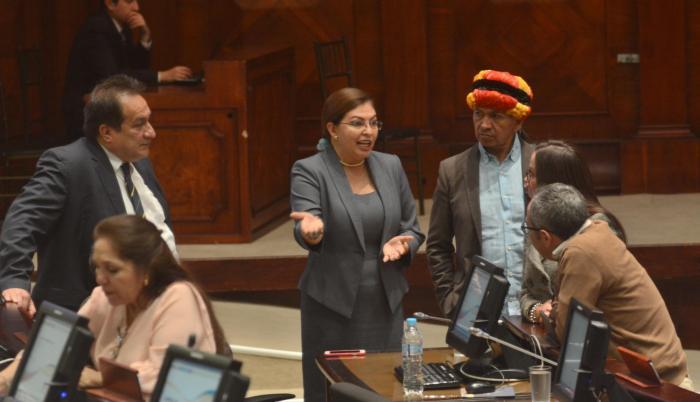 Referencial. La visita hecha por la asambleísta fue previa a la instalación preparatoria de juicio por el caso Balda.