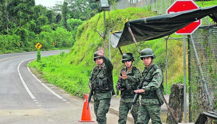 Del lado de Ecuador, en Esmeraldas, también se intensificó el control tras la muerte de Guacho.