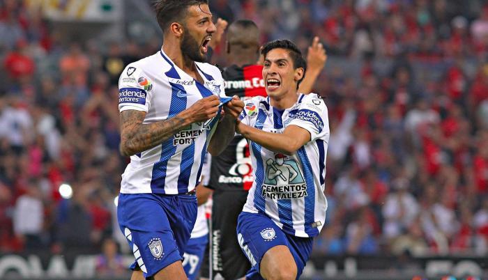 Irregular. El defensor uruguayo no jugó ningún partido en la última liga mexicana, actuó con Pachuca en la Copa MX, donde avanzaron hasta semifinales.