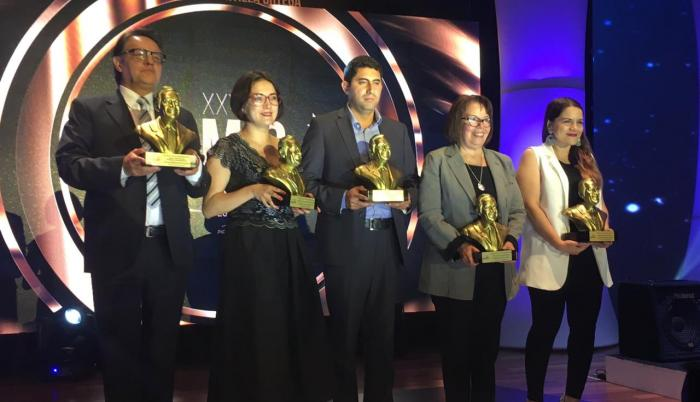 Thalíe Ponce, editora de la redacción digital de Diario EXPRESO, fue la ganadora de la categoría de Entrevista.