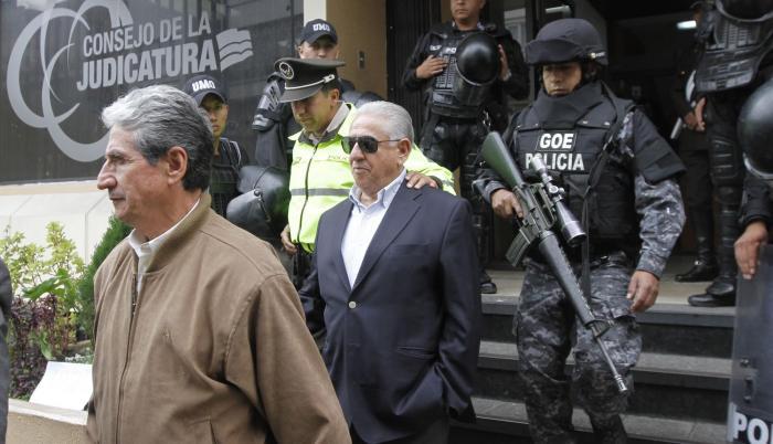 Luis Chiriboga, expresidente de la FEF fue acusado por lavado de activos.