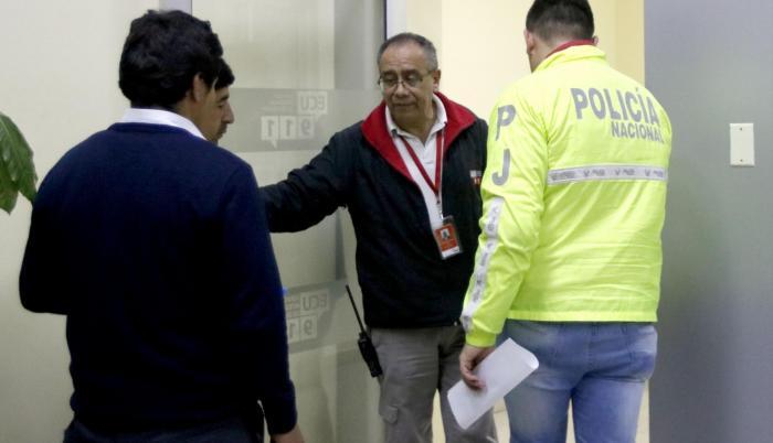 Operativo. La Fiscalía allanó la noche del lunes el ECU-911 y el Ministerio de Justicia.