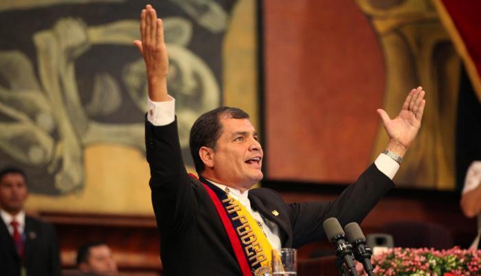 Referencial. El gobierno de Rafael Correa inició en 2007.