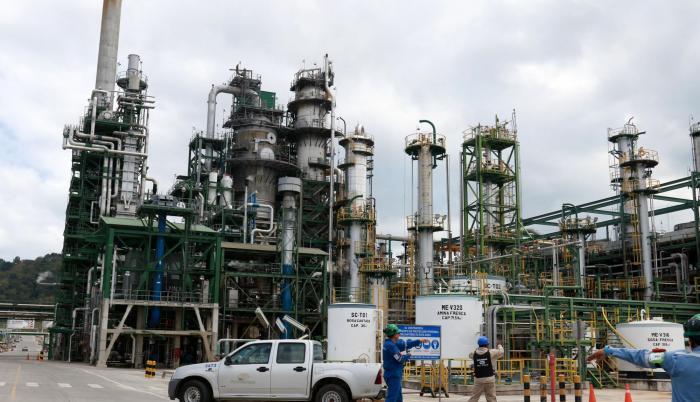 Repotenciación. Los trabajos de mejoras de la Refinería de Esmeraldas se realizaron entre 2012 y 2016.
