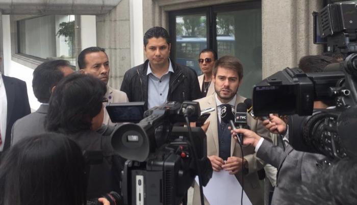Fernando Balda presentó este 19 de diciembre de 2018 una segunda petición en la Corte Nacional de Justicia.