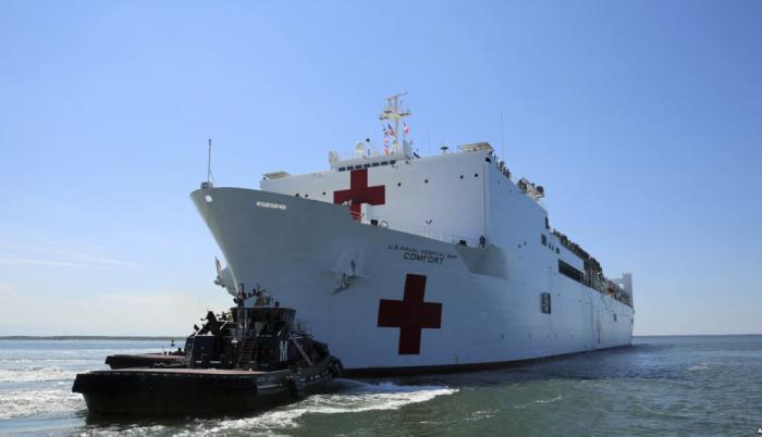 La embarcación zarpa el miércoles en una misión médica que, además de Ecuador, incluye a Perú, Colombia y Honduras.