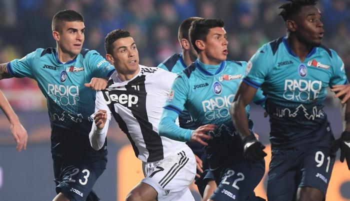 Juventus empató a 2 con el Atalanta.