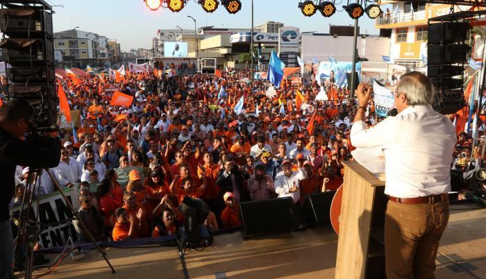 Guayaquil es un punto aparte, ya que si bien los tres grupos apoyan la candidatura de Jimmy Jairala, este aparecerá solo con el logo de su movimiento en la papeleta.