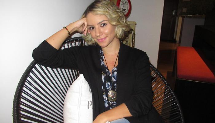 La artista fijó su residencia en la Bogotá para desarrollar su carrera como actriz.