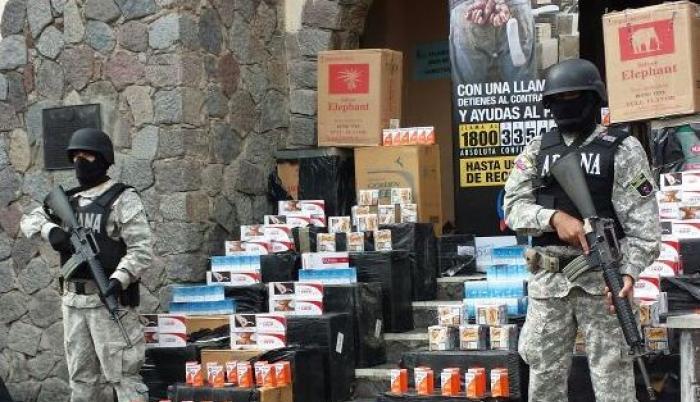 Productos. El cigarrillo está entre los tres productos que más ingresan por contrabando al país. De los que más salen a Colombia están arroz y combustible.
