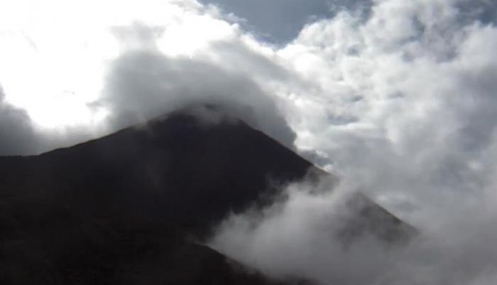 La actividad del volcán ha ido incrementado gradualmente.