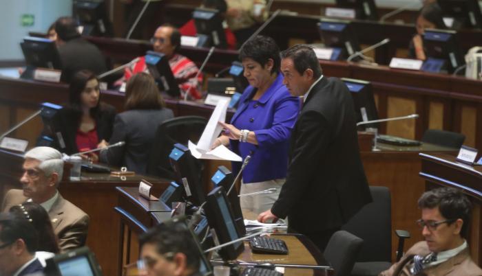 Proponente. María José Carrión y Homero Castanier, de Fiscalización.