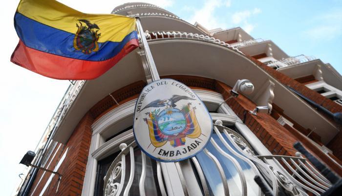 Legaciones. La sede de la Embajada de Ecuador en Londres.