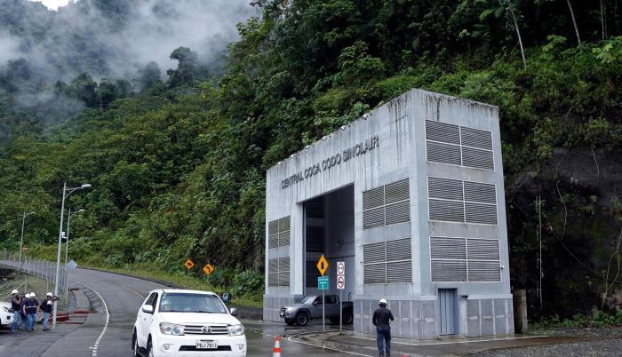 La empresa china también estuvo a cargo de la construcción de la hidroeléctrica Coca Codo.