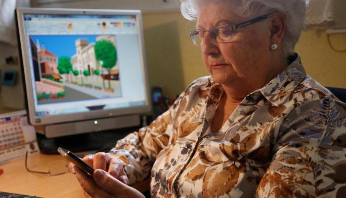 Concha tiene 88 años y más de 156.000 seguidores en Instagram.