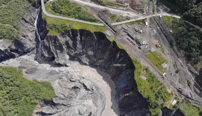 Río Coca_Erosión regresiva_Avance 21 de julio 2020