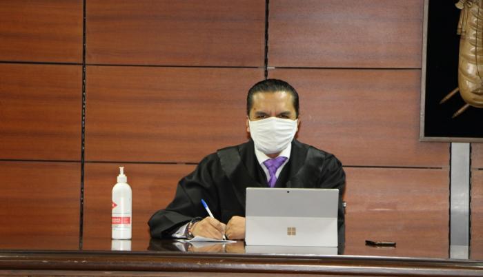 Juez Wilman Terán