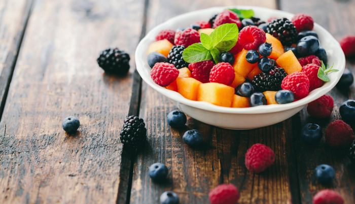Frutas. Imagen de stock de Canva.