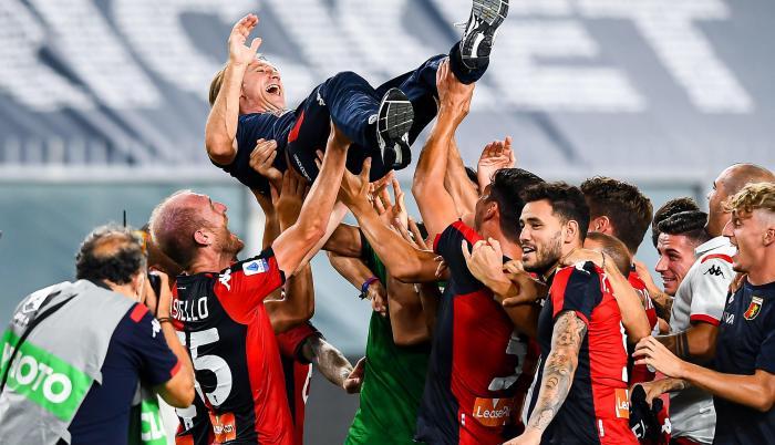 Genova Italia descenso