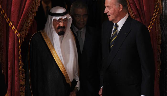 rey españa arabia saudita
