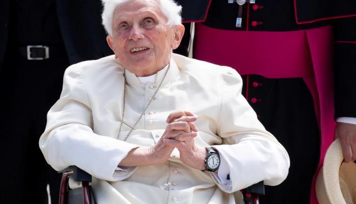 El ex papa Benedicto XVI