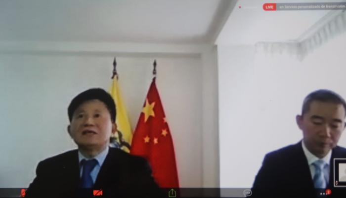 embajador- China- barcos- Galápagos