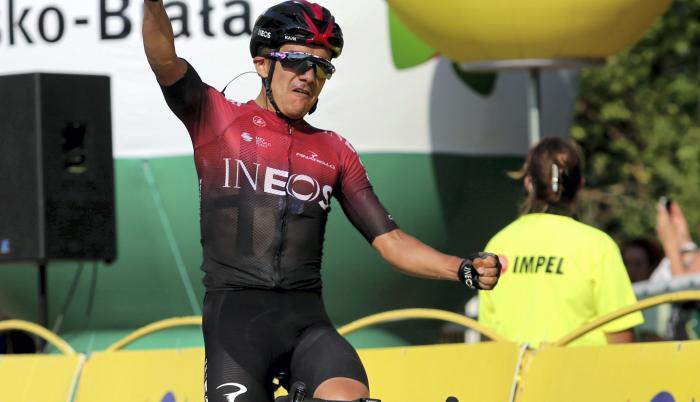 Richard+Carapaz+Ciclismo+Giro+Italia+Tour+Polonia