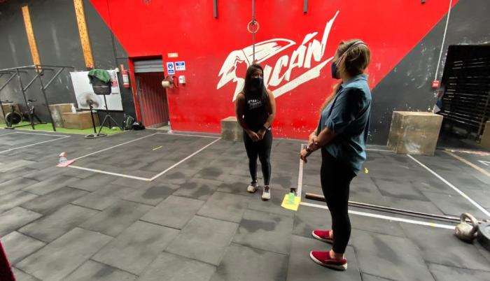 reactivación gimnasios centros de entrenamiento