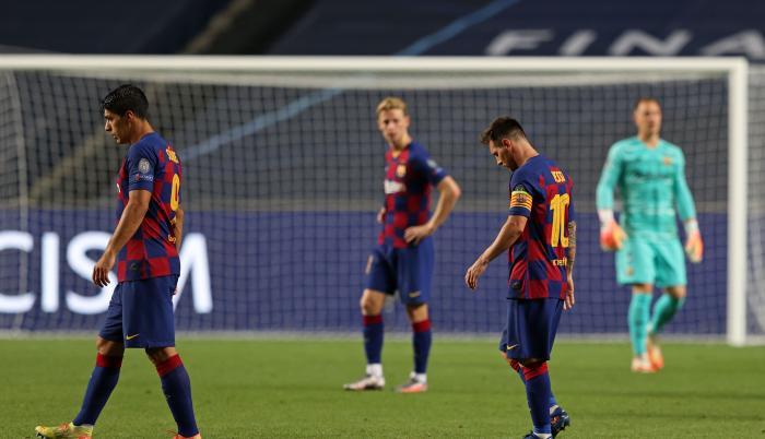 Barcelona Bayern Munich goleada